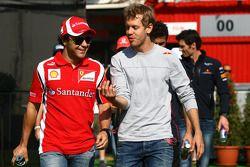 Фелипе Масса, Scuderia Ferrari и Себастьян Феттель, Red Bull Racing