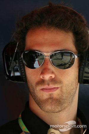 Бруно Сенна, тестовый пилот Renault F1 Team