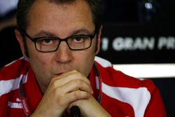 Stefano Domenicali, PDG de Ferrari