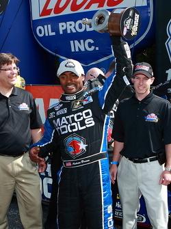 Top Fuel winner Antron Brown