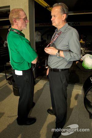 Derek Daly en Keith Wiggins