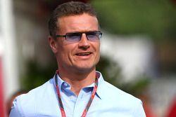 David Coulthard, BBC TV- Formula 1 Campeón Mundial, Rd 05, Gran Premio de España, Sábado