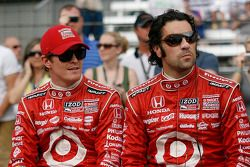 Scott Dixon, Target Chip Ganassi Racing; Dario Franchitti, Target Chip Ganassi Racing