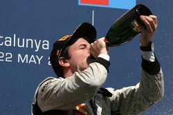 Podium: race winner Fabio Leimer, Team Rapax
