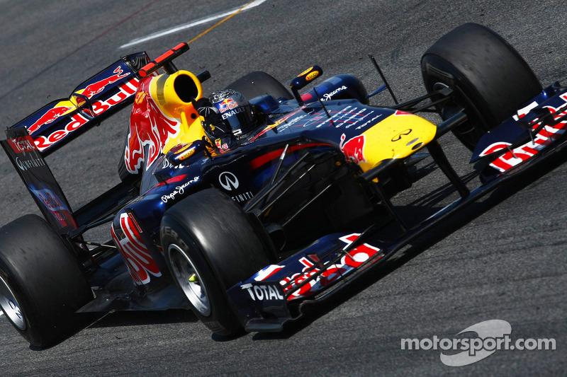 2011 - جائزة إسبانيا الكبرى: سيباستيان فيتيل، ريد بُل