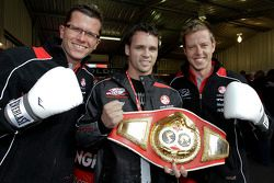 Newly crowned IBF middleweight champion Daniel Geale