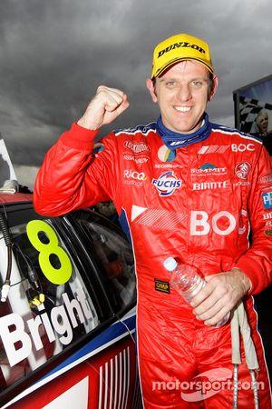 Race winner Jason Bright