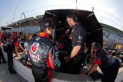 Marco Andretti, Andretti Autosport and Michael Andretti