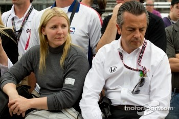 Pippa Mann, Conquest Racing and Eric Bachelart