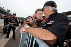 Ryan Briscoe, Team Penske and Rick Mears