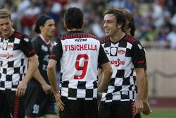 Fernando Alonso, Scuderia Ferrari and Giancarlo Fisichella, Test Driver, Scuderia Ferrari