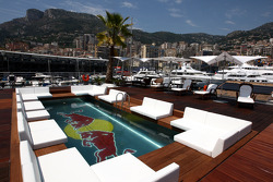 view from Red Bull Energy Station, ve pool