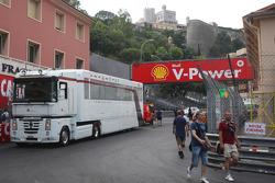 Sauber F1 Team, tırı