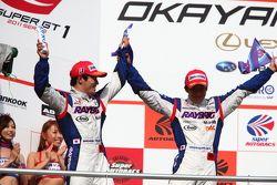 GT500 podium: 2de Takuya Izawa en Naoki Yamamoto