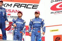 GT500 podium: 3de Toshihiro Kaneishi en Koudai Tsukakoshi