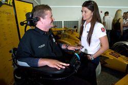 Sam Schmidt and Danica Patrick, Andretti Autosport