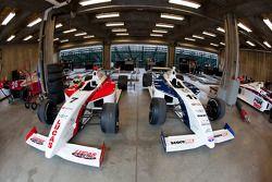 Le garage de Sam Schmidt Motorsports