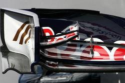 Scuderia Toro Rosso Technical detay ön kanat