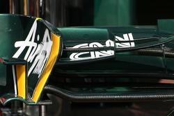 Team Lotus Technical detay ön kanat