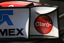 Sauber F1 Team Technical detay ön kanat