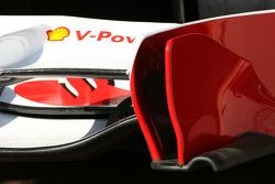 Scuderia Ferrari Technical detay ön kanat