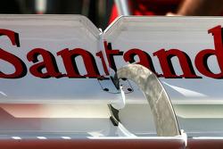 Scuderia Ferrari Technical detay arka kanat