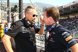 Martin Whitmarsh, McLaren, Chief Executive Officer and Christian Horner, Red Bull Racing, Sporting Director
