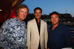 Top Gear, James May e Richard Hammond con Adrian Sutil