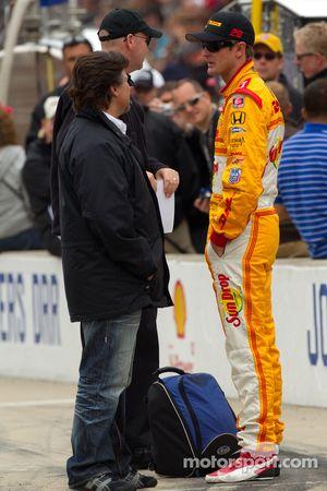Pitstop challenge: Ryan Hunter-Reay, Andretti Autosport en Michael Andretti