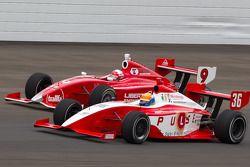 Peter Dempsey, O2 Racing Technology and Anders Krohn, Belardi Auto Racing