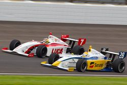 Esteban Guerrieri, Sam Schmidt Motorsports and Duarte Ferreira, Bryan Herta Autosport