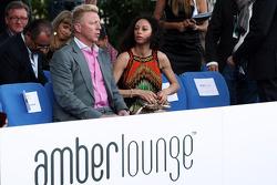 Boris Becker, ve eşi Sharlely Becker-Kerssenberg, Amber Lounge Fashion