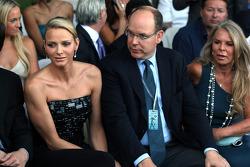 Charlene Wittstock ve Prens Albert, Monaco