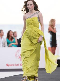 Laura Jordan, kız arkadaşı, Paul di Resta, Force India F1 Team, Amber Lounge Fashion