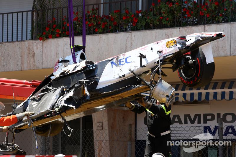Sergio Perez: Grand Prix von Monaco 2011 in Monte Carlo