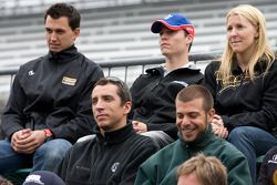 Graham Rahal, Service Central Chip Ganassi Racing, Alex Lloyd, Dale Coyne Racing, Pippa Mann, Conque