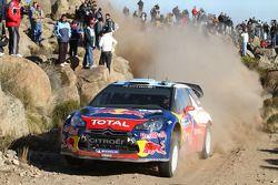 Sebastien Loeb en Daniel Elena, Citroën DS3 WRC, Citroën Total World Rally Team