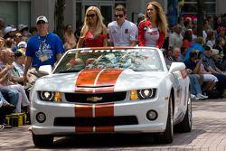 Indy 500 festival parade: Marco Andretti, Andretti Autosport