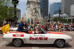 Indy 500 festival parade: CSI Miami Omar Miller