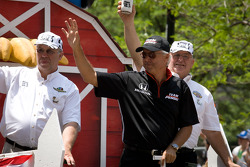 Indy 500 festival parade: Rick Mears