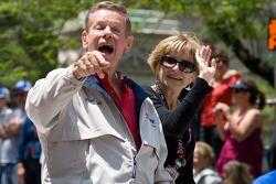 Indy 500 festival parade: Bobby Unser