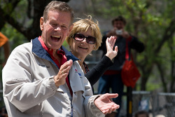 Indy 500 festival parade: Bobby Unser