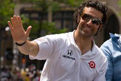 Indy 500 festival parade: Dario Franchitti, Target Chip Ganassi Racing