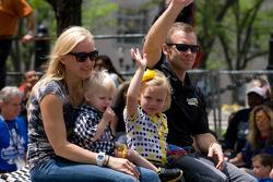 Indy 500 festival parade: Ed Carpenter, Sarah Fisher Racing