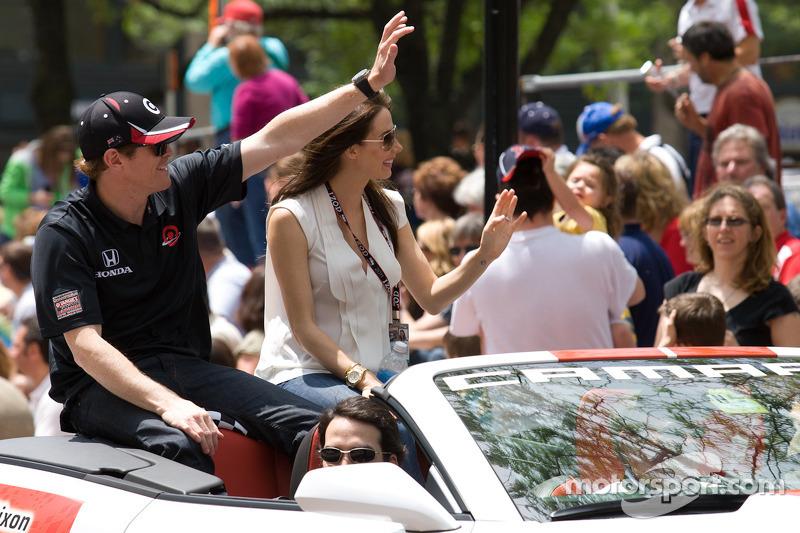 Indy 500 festival parade: Scott Dixon, Target Chip Ganassi Racing