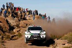 Matthew Wilson en Scott Martin, Ford Fiesta RS WRC, M-Sport Stobart Ford World Rally Team