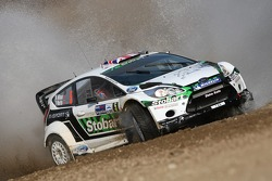 Matthew Wilson en Scott Martin, Ford Fiesta RS WRC, M-Sport Stobart Ford World Rally Team