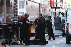 Paddock cerrado y evacuado por una alerta de bomba