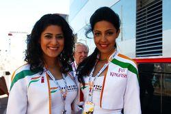 Chicas de Force India F1 Team