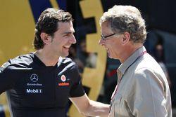 Pedro de la Rosa, test driver, McLaren Mercedes y Herman Tilke